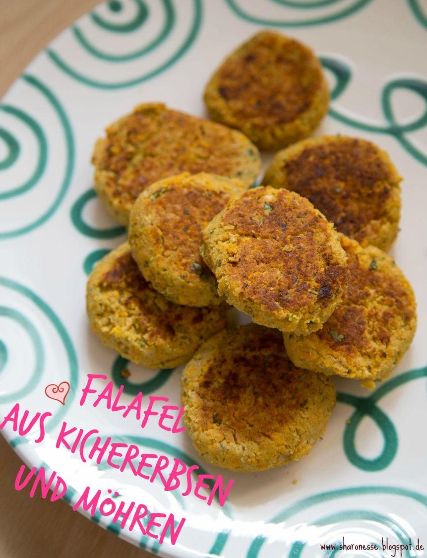 Rezept: Vegane Falafel aus Kichererbsen und Möhren mit Zitrone hclf von Sharonesse