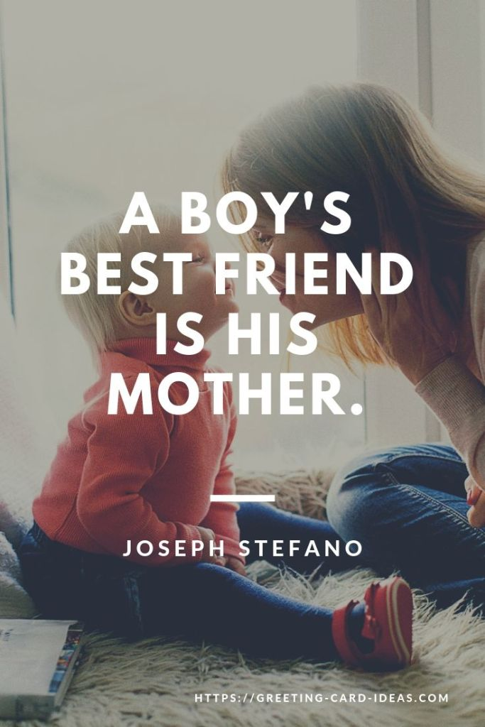 Mother Son Quotes - Top 49 Quotes about Mothers and Sons