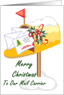 Christmas Cards For My Mailman From Greeting Card Universe