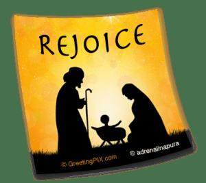 Stix. Rejoice Baby In Manger
