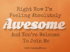 #6 I'm Feeling Awesome 72dpi