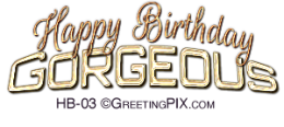 GreetingPIX.com_Greeting Words Birthday Wishes_Happy Birthday Gorgeous