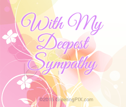GreetingPIX.com_Word Pictures_With My Deepest Sympathy