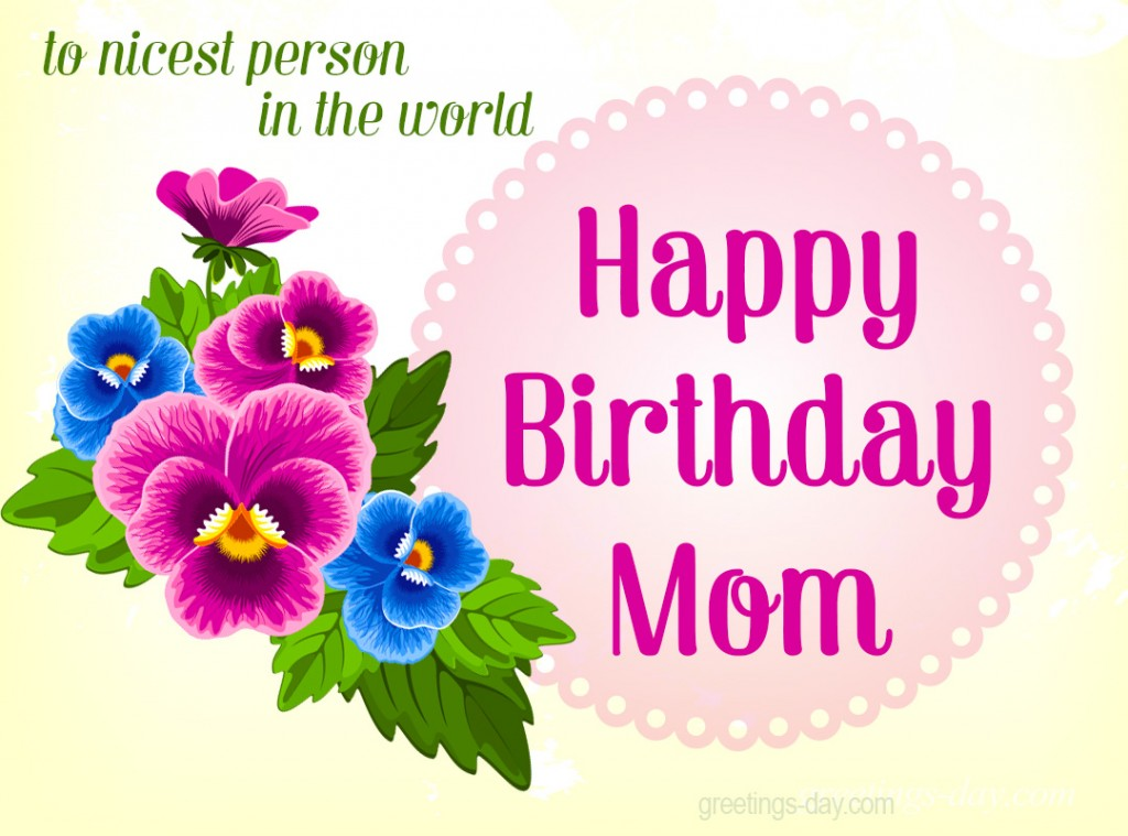 Happy Birthday MOM Best Images GIFs Amp Ecards