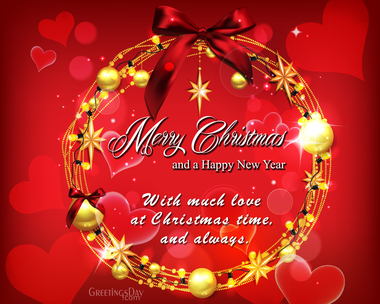20 Christmas Greeting Cards For Boyfriend Girlfriend Husband Or Wife Merry Christmas