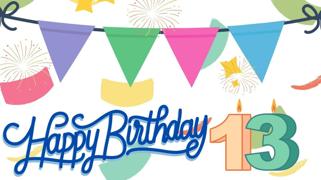 Best Happy 13th Birthday Wishes Greeting Wishes And Cards Images