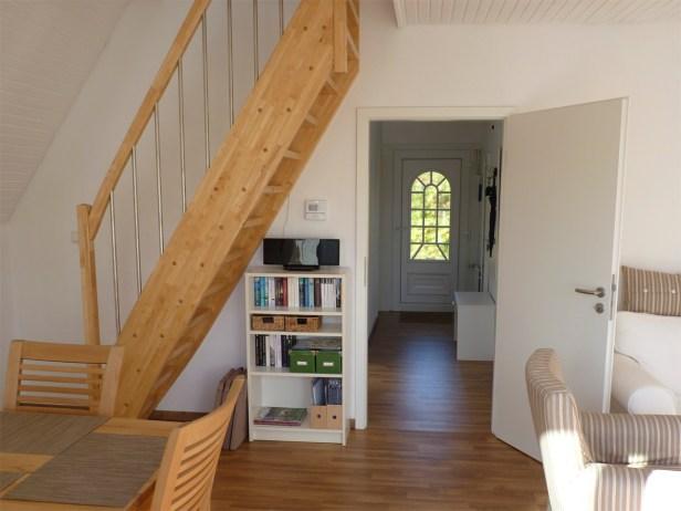 Wohnzimmer und Flur