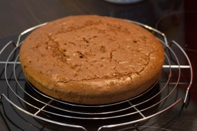 Brownie en sortie du four