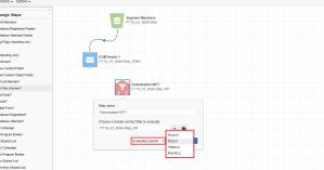 Eloqua multistep campaign set evaluation