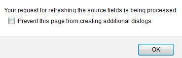 Refresh SFDC Source FIelds
