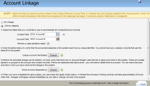Eloqua Salesforce Account Linkage