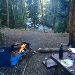 Elbert Creek Campground Campsite