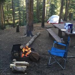 Elbert Creek Campground Campsite