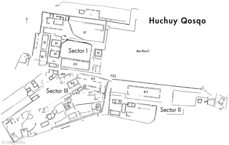 Huchoy Qosqo Map