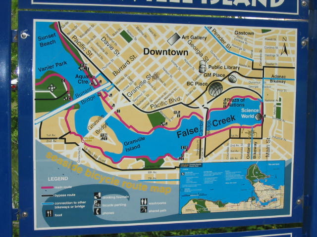 False Creek map