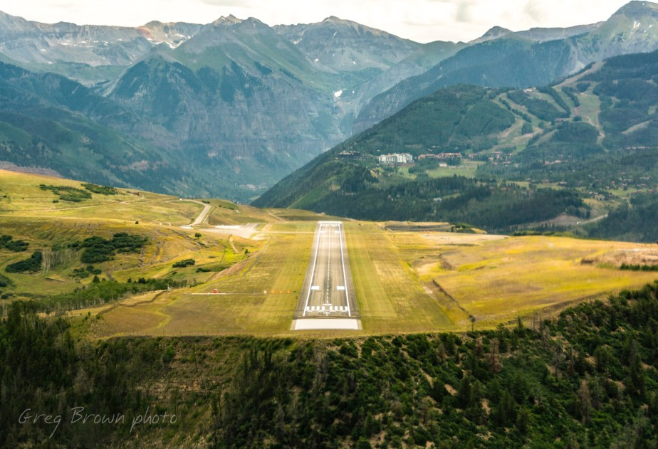 """Mountain Airport,"" Greg's December, 2019 Flying Carpet column"