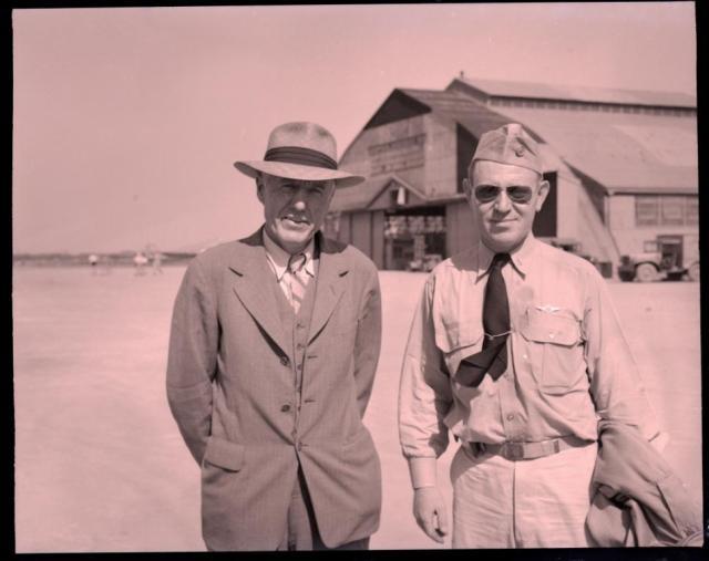On the left, William Langhorne Bond