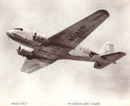 A DC-2 in Pan Am livery