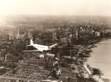 Maiden flight over the Shanghai Bund, 1935