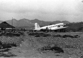 DC-2 in Chungking, 1938