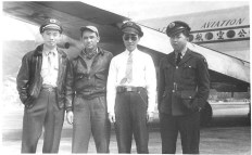 Fred Chin on the left; Bing Zhou in the white shirt, second from the right.