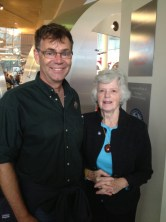 With Jeanne Holder, niece of CNAC pilot Frank Higgs