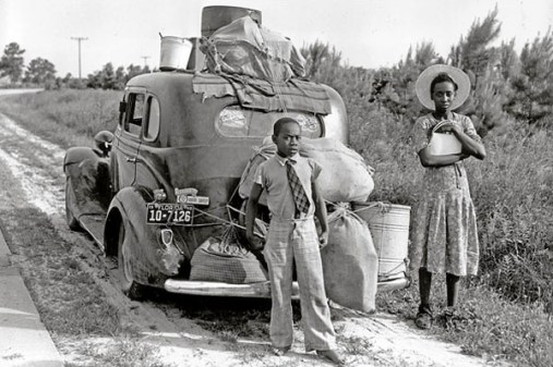Blacks going North GreatMigration