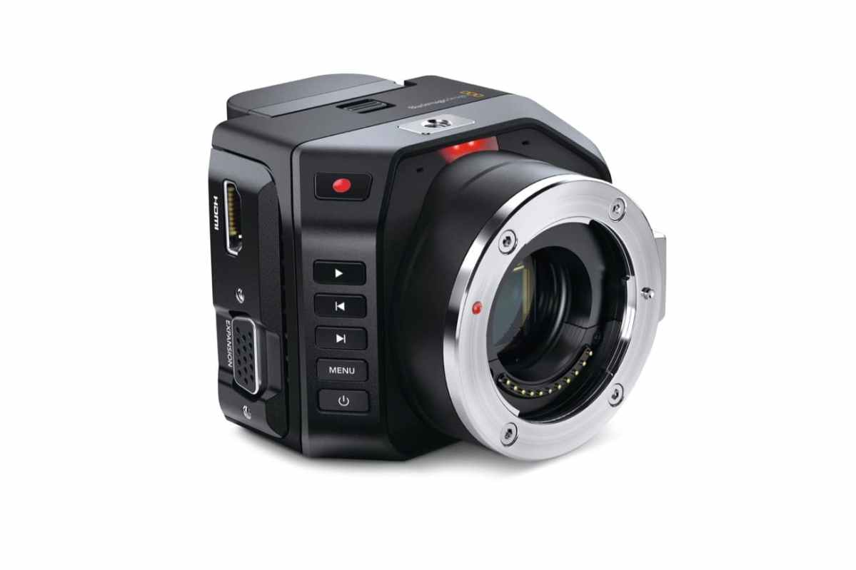 Blackmagic Micro Cinema Camera une caméra mini qui n'a pas volé son nom