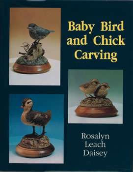 Baby Bird and Chick Carving