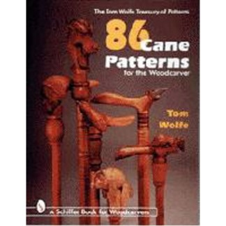 86 Cane Patterns for the Woodcarver