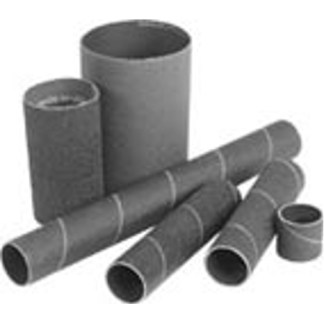 "Sanding Drum Sleeves 1"" Dia. x 2"" Length  80 Grit Medium  Package of 12"