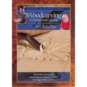 DVD - Chris Pye Woodcarving #3 - Ornamental Carving
