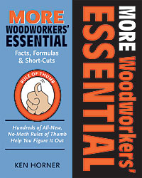 More Woodworkers' Essential Facts, Formula's & Short Cuts