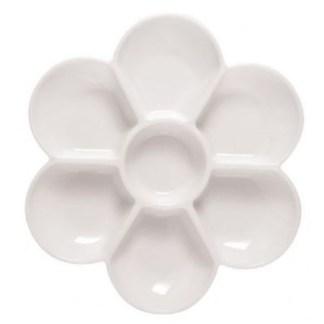 Plastic Blossom Dish Pallette