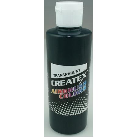 Createx Airbrush Transparent Forest Green 4 0z.