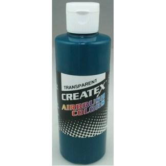 Createx Airbrush Transparent Aqua 4 0z.