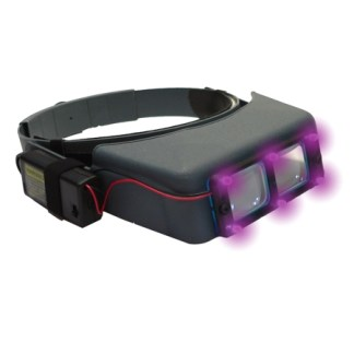 Quasar Lighting System Fits Opti-Visor UVLS