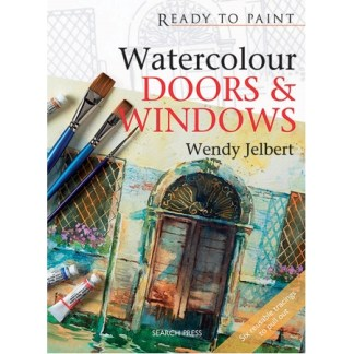 Ready to Paint - Watercolour Doors & Windows