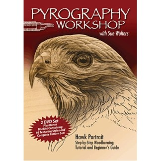 DVD - Pyrography Workshop with Sue Walters DVD