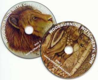 DVD - Woodburning with Cheryl Dow