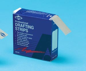 Adhesive, ALVIN DRAFTING STRIPS-500/ROLL