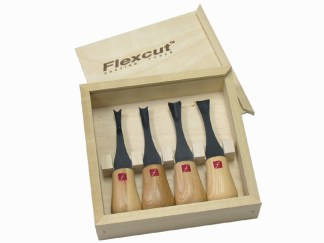 Flexcut FR404 Wide Format Palm Gouge Set