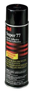 Adhesive, 3M SPRAY ADH Super 77-13.75 OZ