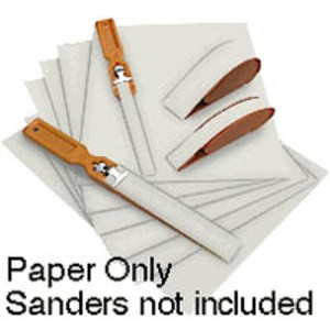 Wet/Dry Polishing Paper, 400 grit, 30 Micron Sheet Green
