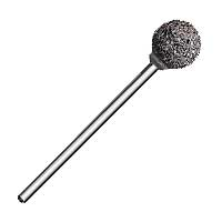 "V-Stone, 80 grit - Ball shape 3/32"" Shank"