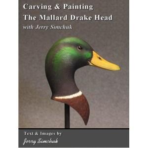 Carving & Painting the Mallard Drake Head