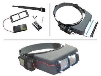 Quasar Lighting System Fits Opti-Visor
