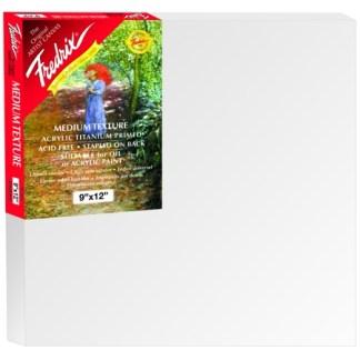 STRETCH CANVAS 4 X 5 , Fredrix Red Label
