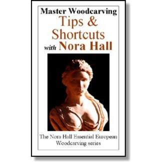 DVD - Nora Hall Master Woodcarving Tips & Shortcuts