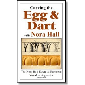 DVD - Nora Hall Carving the Egg & Dart